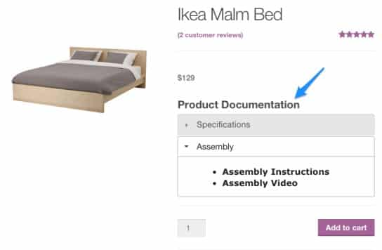 WooCommerce Product Documents in Action
