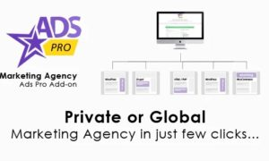 Ads Pro Add-on – WordPress Marketing Agency