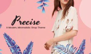 Precise – A Modern Minimalistic Shop Theme